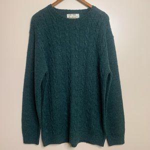 3/$20 Line of Trade Shetland Wool Knit Sweater